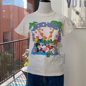 Vintage Disney Minnie Mouse Daisy Duck Tee T Shirt